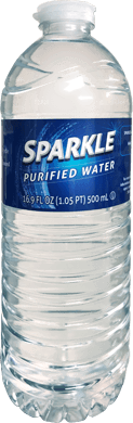 Sparkle Purified Bottle Water